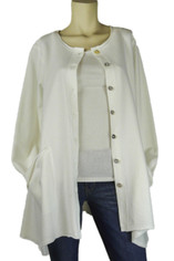 Color Me Cotton CMC Alex in White Last One Small CLEARANCE PRICE