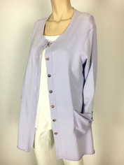 Color Me Cotton CMC Alex Tunic in Lavender Last One Medium CLEARANCE PRICE