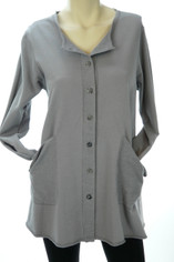 Color Me Cotton Alex Shirt/Jacket Grey