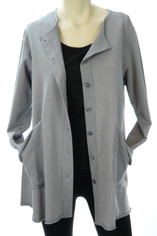 Color Me Cotton CMC Alex Tunic in Grey Last One Small CLEARANCE PRICE