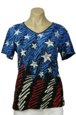 Stars & Stripes Cotton Tee