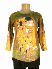 Art Image Top Klimt's The Kiss