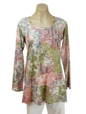 Cotton Tunic Morocco Print by CMC Color Me Cotton