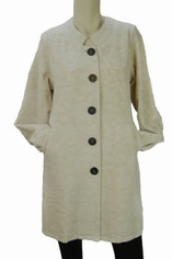 Tapestry Coat in Cream by CMC Color Me Cotton