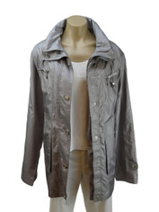 Lightweight Grey Jacket by Flair XLARGE