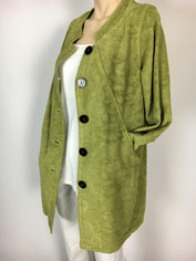 COLOR ME COTTON CMC Tapestry Coat in Celadon Green Last One for Small/Medium Clearance Price