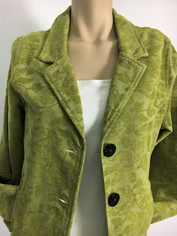 COLOR ME COTTON CMC Tapestry Jacket in Celadon Green Clearance Price