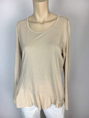 Color Me Cotton CMC Mary Top in Soft Chamois Sale