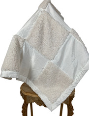 Barefoot Dreams Ultra Plush Baby Blanket in Pearl White on Sale