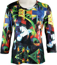 Modern Art - Cattle - Art To Wear Top