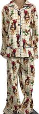Cowgirl Dreams Flannel Pajama Set   XLarge