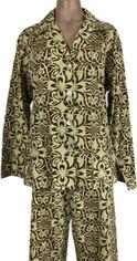 Tropical Print Cotton Pajama Set