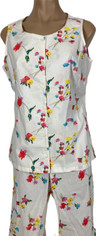 Pine Cone Hill Spring Flowers Capri Set  Medium