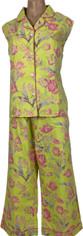 Pine Cone Hill Kyle Sleeveless Capri Pajama Set   XLarge