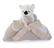 Barefoot Dreams Bear Buddy Blankie To Go  Sale
