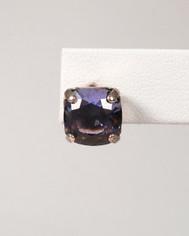 La Vie Parisienne Post Earrings Purple Crystal