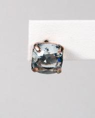 La Vie Parisienne Post Earrings Ice Blue Crystal