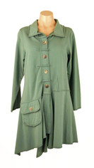 Color Me Cotton CMC Alissa Jacket in Teal Dream
