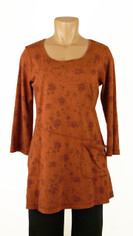 CMC Color Me Cotton Rosie Tunic in Rusty