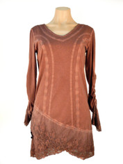 Gretty Gorgeous Tunic/Dress Burgundy