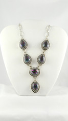 Spectacular Mystic Topaz Necklace