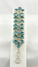 Caribe Blue Quartz Bracelet