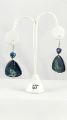 Indigo Blue Jasper Earrings