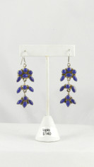 Spectacular Blue Lapis Earrings