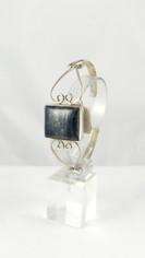 Lapis Lazuli Silver Cuff Bracelet