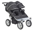Valco Baby Tri-Mode Twin EX Stroller 2012 Raven New In Box