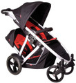 Phil & Teds Verve Double Inline Buggy Stroller Red Brand New In Box