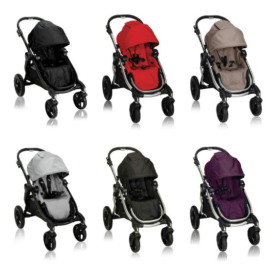 Baby Jogger City Select Aluminum Frame Double Stroller New Free Shipping