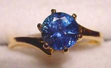Montana Sapphire bypass ring