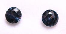 Montana Sapphires Round Brilliant Matched Pair