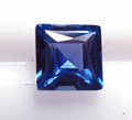 Montana Yogo Sapphire square princess cut .33ct 3.6mm