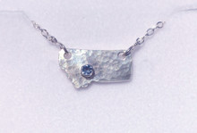 Montana Sapphire State of Mind Pendant 3 mm