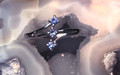 Montana Yogo Sapphire 2mm 3 Stone Open Shank Sterling Silver Ring