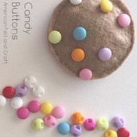 Candy Buttons - 25 pieces