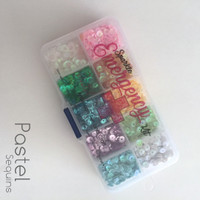Sparkle Emergency Pastel Sequin Set 5mm