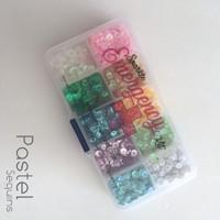 Sparkle Emergency Pastel Sequin Set 5mm
