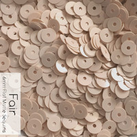 Fair - 6mm Flat Matte Sequin