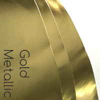 Gold Metallic - PVC nonwoven fabric