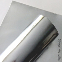 Silver Metallic - nonwoven fabric