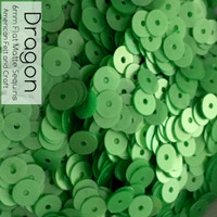 Dragon - 6mm Flat Matte Sequin