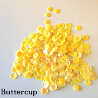 Buttercup - 6mm Cupped Sequins