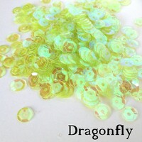 Dragonfly - 6mm Cupped Sequins