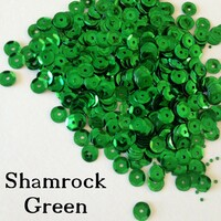 Shamrock  - 6mm Cupped Sequins