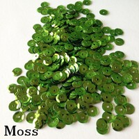Moss  - 6mm Cupped Sequins