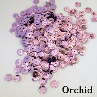 Orchid  - 6mm Cupped Sequins