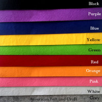 Sticky back Felt  2mm Thickness Adhesive Felt Fabric